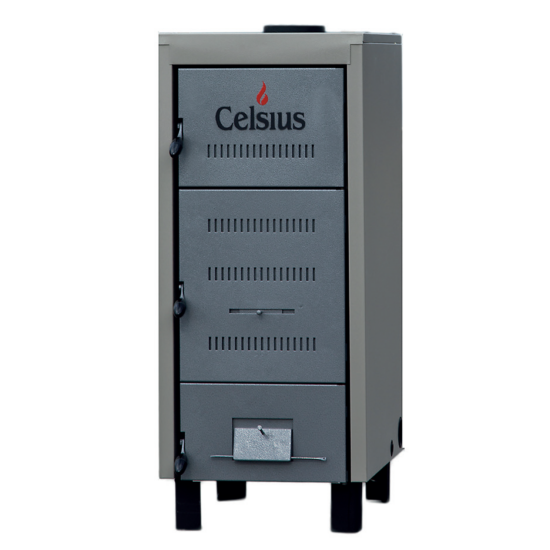 Celsius 25-29 Szilárdtüzelésű Kazán 29 kW