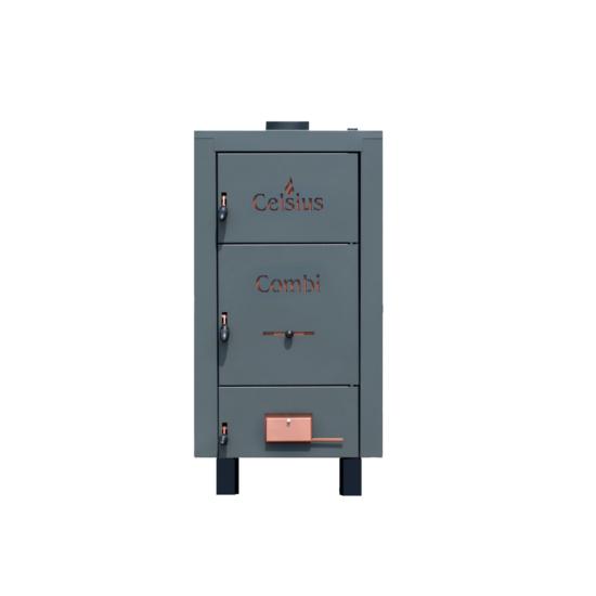 Celsius Combi 25-29 Szilárdtüzelésű Kazán 33 kW