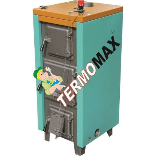 Termomax 44 Vegyes tüzelésű kazán + burkolattal + huzatszabályzóval