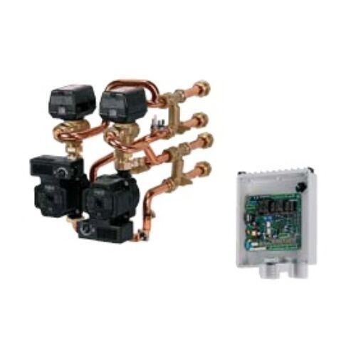Immergas beépíthető egység 2 keverőszelepes fűtési rendszerhez